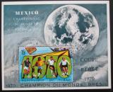 Poštovní známka Čad 1970 MS ve fotbale Mi# Block 9