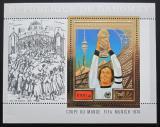 Poštovní známka Dahomey 1974 MS ve fotbale Mi# Block 55