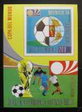 Poštovní známka Rovníková Guinea 1973 MS ve fotbale Mi# Block 77
