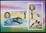 Poštovní známka Rovníková Guinea 1974 MS ve fotbale Mi# Block 108
