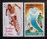 Poštovní známky Benin 1977 MS ve fotbale Mi# 97-98