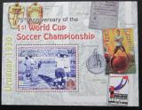 Poštovní známka Antigua 2005 MS ve fotbale Mi# Block 616