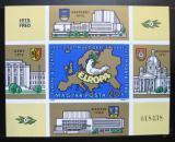 Poštovní známka Maďarsko 1980 Konference bezpečnosti Mi# Block 147 B Kat 30€