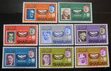Poštovní známky Šardžá 1966 Mezinárodní spolupráce Mi# 213-20