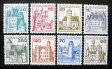 Poštovní známky Německo 1977 Hrady a zámky Mi# 913-20
