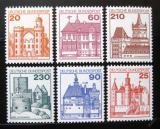 Poštovní známky Německo 1978-79 Hrady a zámky Mi# 995-99,1028