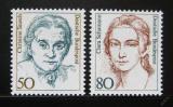 Poštovní známky Německo 1986 Slavné ženy Mi# 1304-05