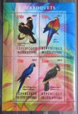 Poštovní známky Pobřeží Slonoviny 2013 Ptáci, Papoušci