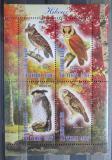 Poštovní známky Čad 2013 Ptáci, sovy