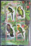 Poštovní známky Čad 2013 Ptáci, papoušci