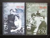Poštovní známky Faerské ostrovy 2000 Folková škola Mi# 372-73