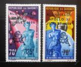 Poštovní známky Dahomey 1969 Přistání na Měsíci Mi# 387-88