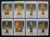 Poštovní známky Svatý Vincenc 1990 Figuríny Mi# 1609-16