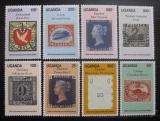 Poštovní známky Uganda 1990 Black Penny Mi# 797-804 Kat 12€