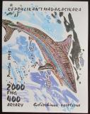 Poštovní známka Madagaskar 1993 Žralok Mi# Block 210
