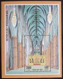 Poštovní známka Madagaskar 1994 Westminsterské opatství Mi# Block 259