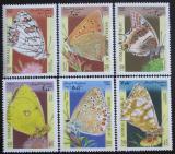 Poštovní známky Somálsko 1998 Motýli