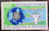Poštovní známka Niger 1970 Rotary International Mi# 245