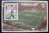 Poštovní známka Paraguay 1986 MS ve fotbale Mi# Block 430 Kat 20€
