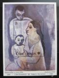 Poštovní známka Svatý Tomáš 1981 Umění, Picasso Mi# Block 69