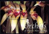 Poštovní známka Papua Nová Guinea 2002 Orchideje Mi# Block 24