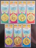 Poštovní známky Rovníková Guinea 1972 LOH Mnichov Mi# 163-69