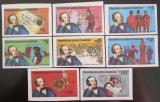 Poštovní známky Rovníková Guinea 1976 Rowland Hill neperf. Mi# 1557-64 B