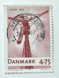 Poštovní známka Dánsko 2007 Mlýn Gedser Mill Mi# 1455