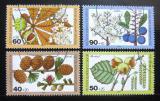 Poštovní známky Západní Berlín 1979 Rostliny Mi# 607-10