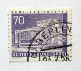 Poštovní známka Západní Berlín 1956 Divadlo Mi# 152 Kat 16€