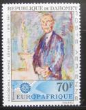 Poštovní známka Dahomey 1967 Konrad Adenauer Mi# 318