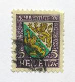 Poštovní známka Švýcarsko 1926 Erb Thurgau Mi# 218