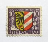 Poštovní známka Švýcarsko 1930 Erb Altdorf Mi# 242