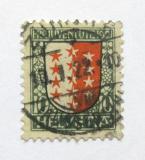 Poštovní známka Švýcarsko 1921 Erb Valais Mi# 172