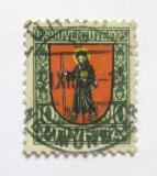 Poštovní známka Švýcarsko 1923 Erb Glarus Mi# 186