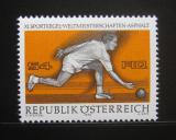 Poštovní známka Rakousko 1976 MS v kuželkách Mi# 1513