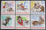 Poštovní známky Rumunsko 1965 Pohádky Mi# 2419-24