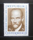 Poštovní známka Rakousko 1976 Dr. Robert Bárány, lékař Mi# 1509
