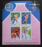 Poštovní známky KLDR 1996 Krasobruslení Mi# 3806-09