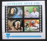Poštovní známky KLDR 1999 Scény z filmu Mi# Block 429