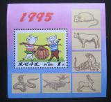 Poštovní známka KLDR 1995 Rok prasete Mi# Block 327