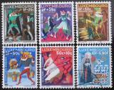 Poštovní známky Lucembursko 1965 Pohádky Mi# 717-22
