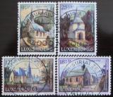 Poštovní známky Lucembursko 1990 Kaple Mi# 1259-62