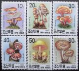 Poštovní známky KLDR 1993 Houby Mi# 3373-78