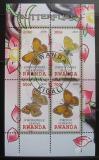 Poštovní známky Rwanda 2010 Motýly I