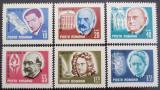 Poštovní známky Rumunsko 1967 Osobnosti Mi# 2607-12