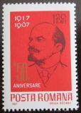 Poštovní známka Rumunsko 1967 V. I. Lenin Mi# 2630
