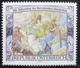 Poštovní známka Rakousko 1995 Freska, Daniel Gran Mi# 2125