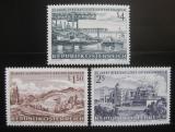 Poštovní známky Rakousko 1971 Znárodněný průmysl Mi# 1373-75