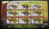 Poštovní známky Džibutsko 2011 Dinosauři IV